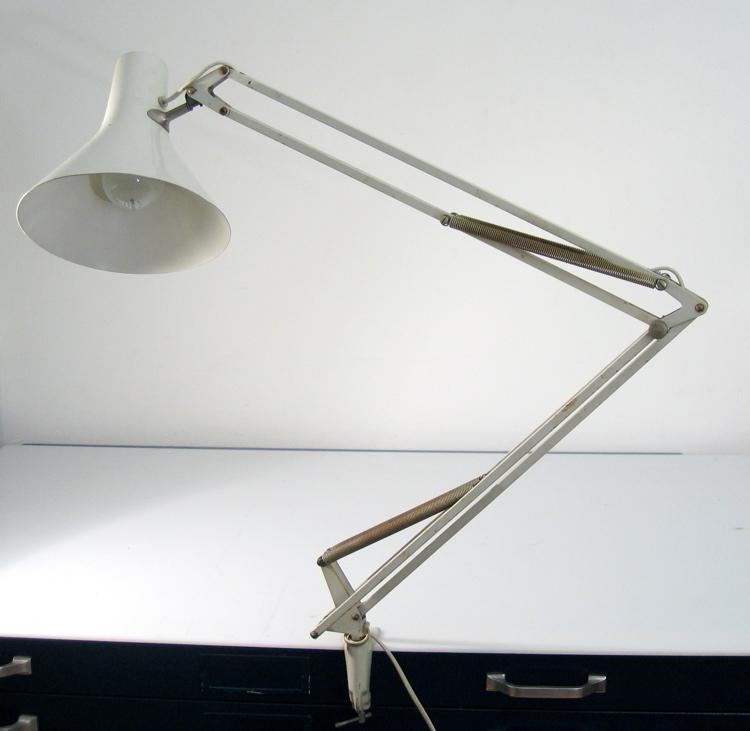 Philips adjustable sixties vintage desk lamp