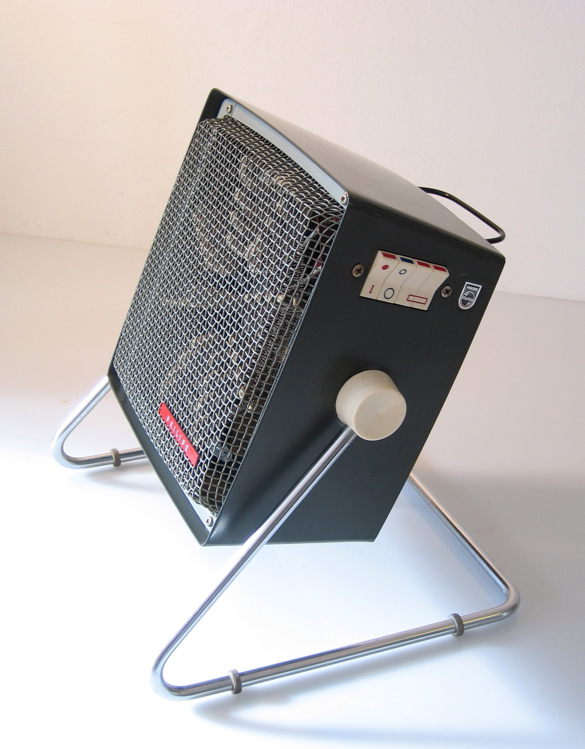 Philips designed fifties heater with fan