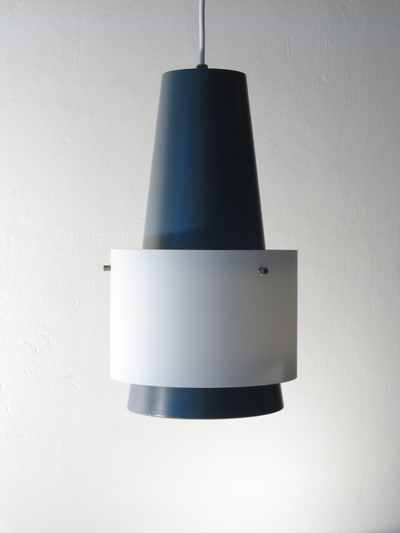 philips fifties louis kalff retro pendant lamp