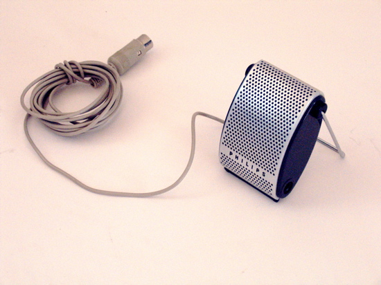 Philips fifties vintage retro microphone