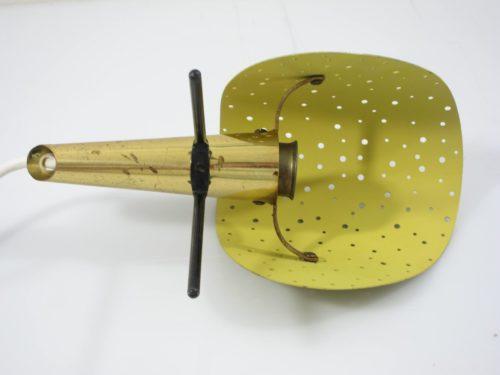 Rare Ernest Igl vintage metal design table or wall lamp