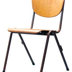 School chair, 50s, vintage retro