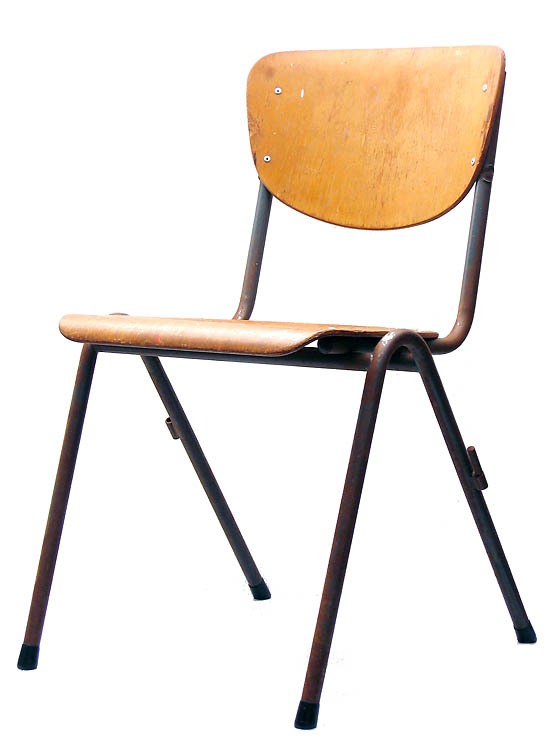 School chair 50s vintage plywood design retro sold for 50s chair design