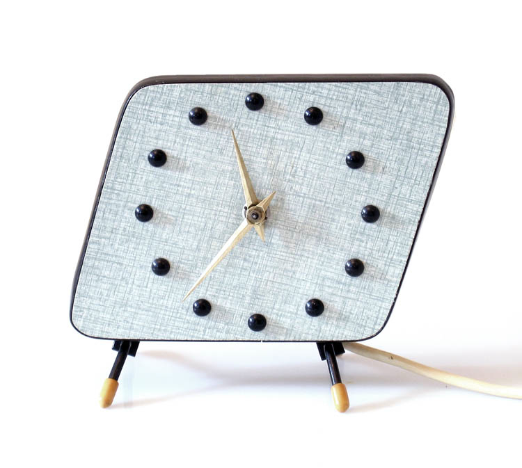 Sixties retro vintage clock