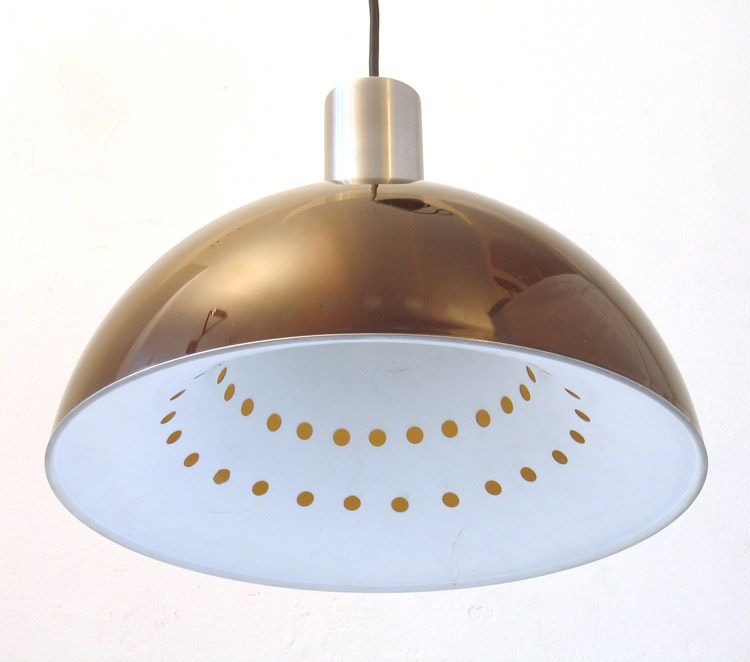 Sixties vintage design pendant lamp