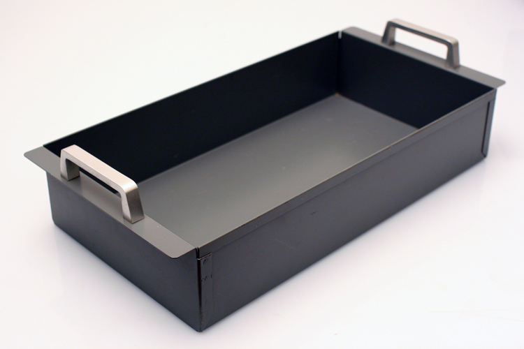 Tray Storage Drawer Metal 60s Vintage Retro