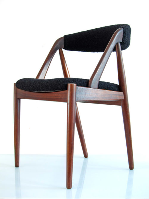 Scandinavian vintage wooden dining table chair3