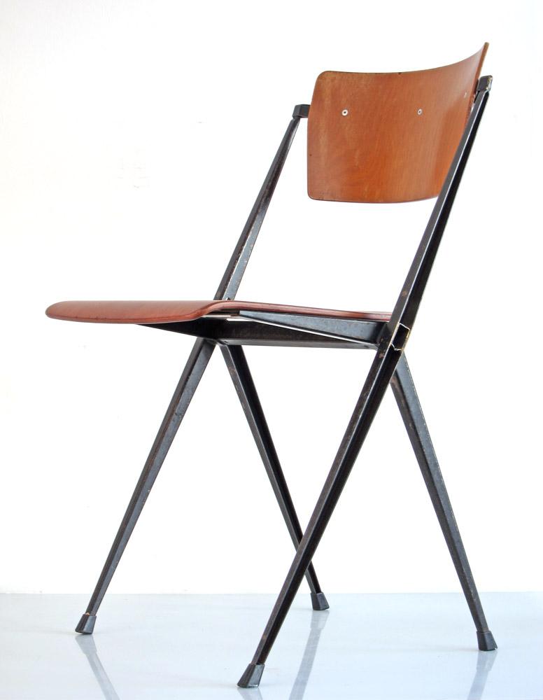 Wim Rietveld Pyramid Ahrend Cirkel Chairs