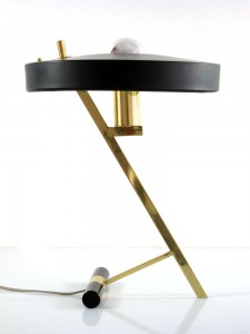 Philips Louis Kalff 'Z'- vintage table lamp at Bom Design Furniture in Rotterdam