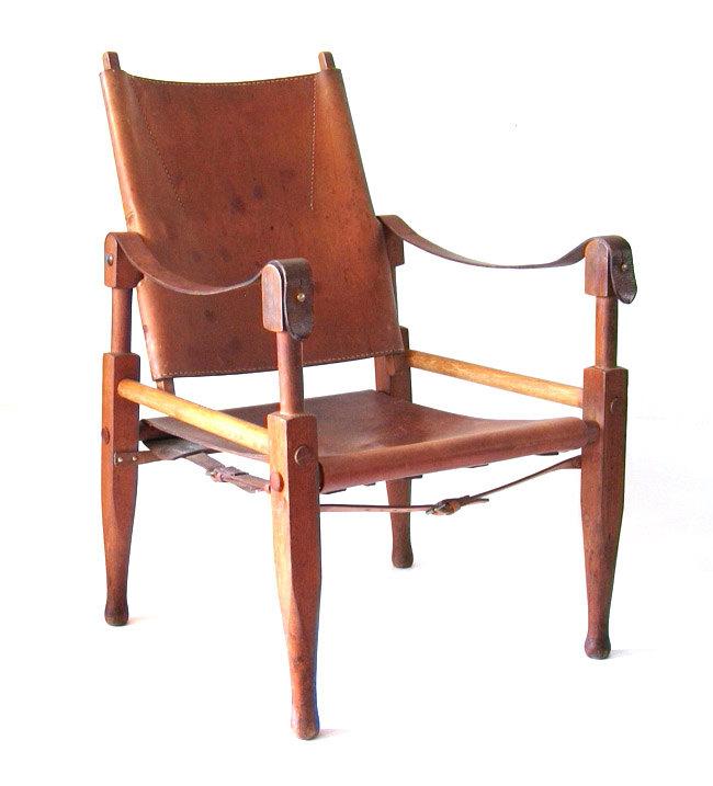 Wilhelm Kienzle Safari chair