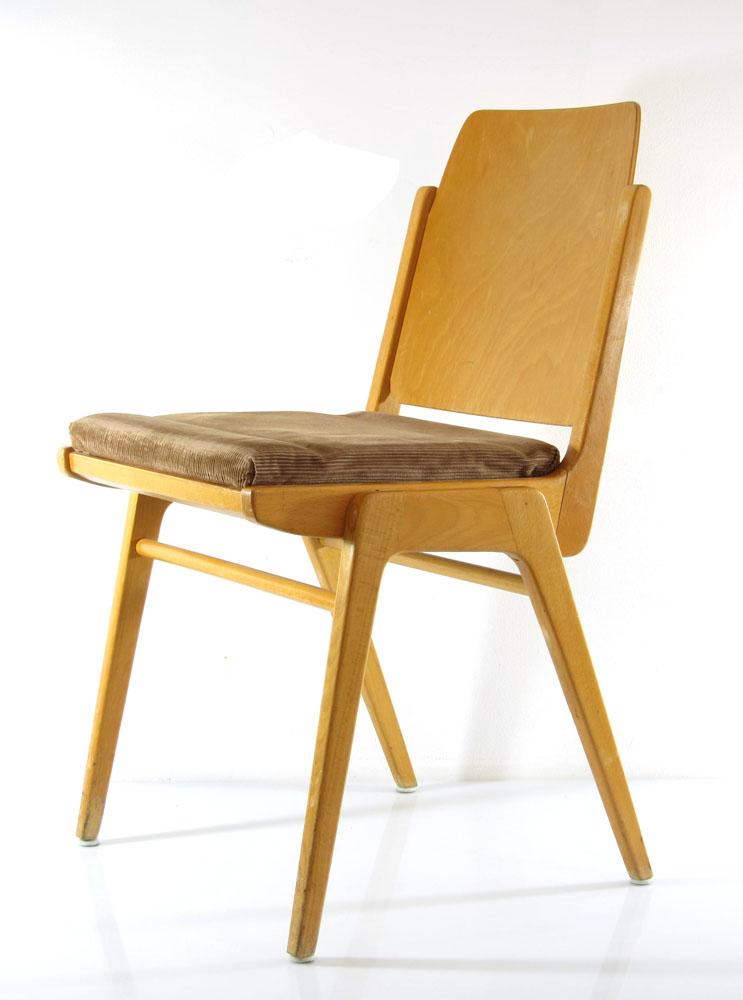 Cees Braakman Vintage Fifties Pastoe Sm05 Chair