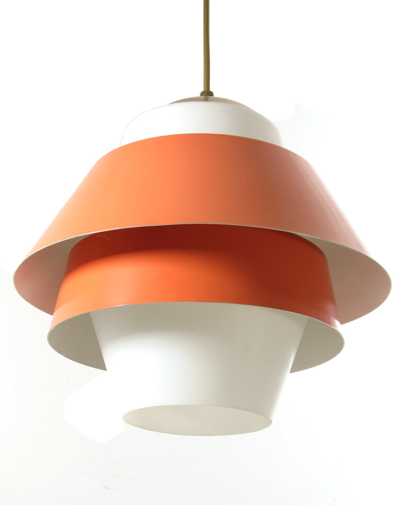 louis kalff sixties retro philips pendant lamp