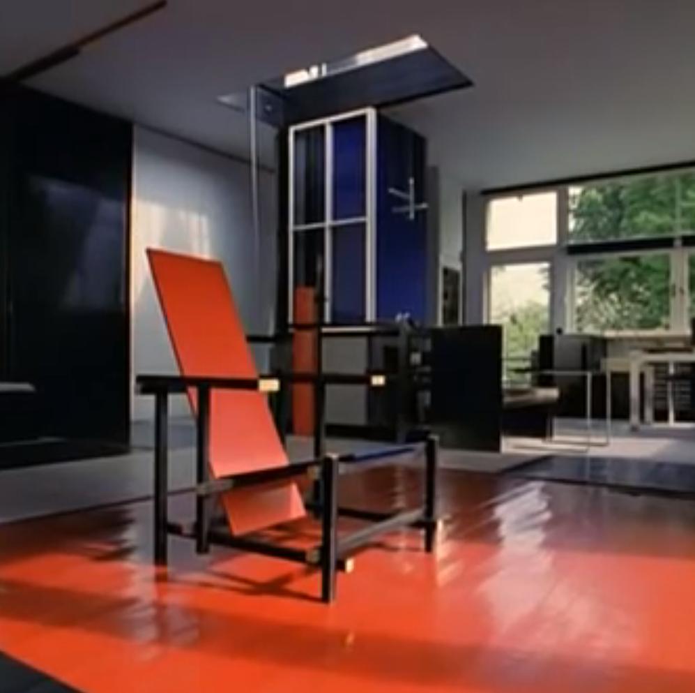 Gerrit Rietveld Architecture Amp Furniture Bdf