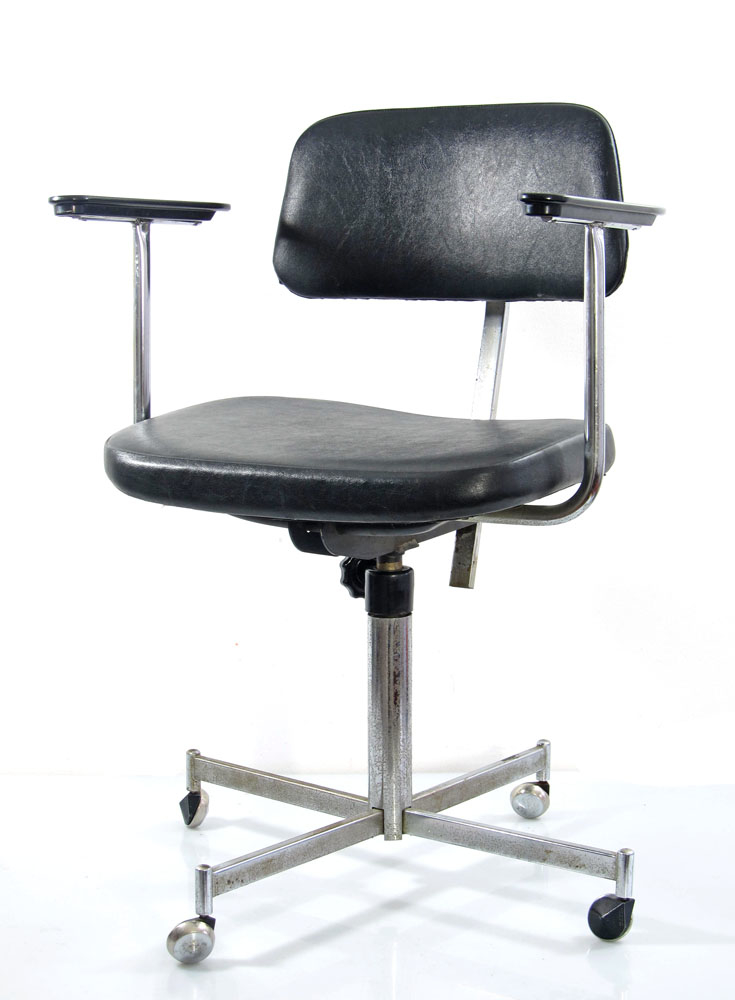 english fifties vintage design adjustable desk chair