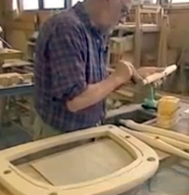 How the Hans Wegner Peacock chair is made