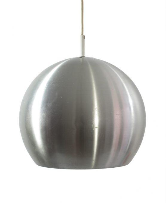 Large Raak aluminium sixties vintage pendant