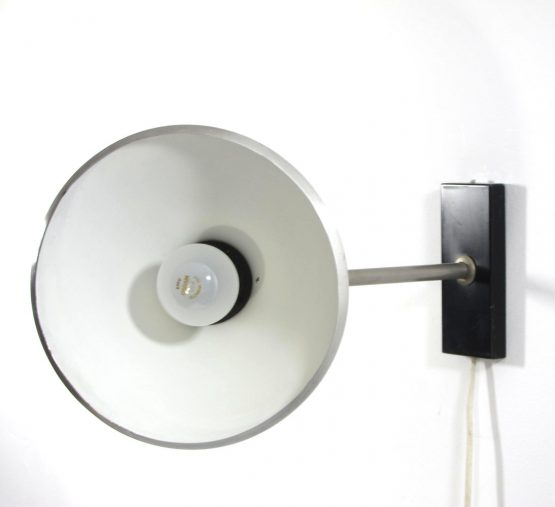 Raak vintage adjustable sixties wall lamp