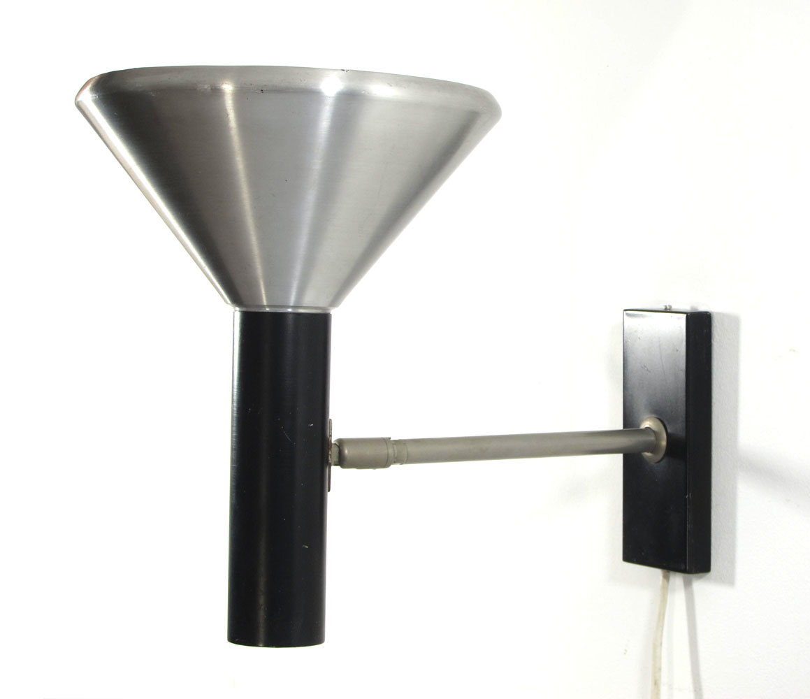 Raak adjustable sixties vintage wall lamp   eames, braakman, friso ...