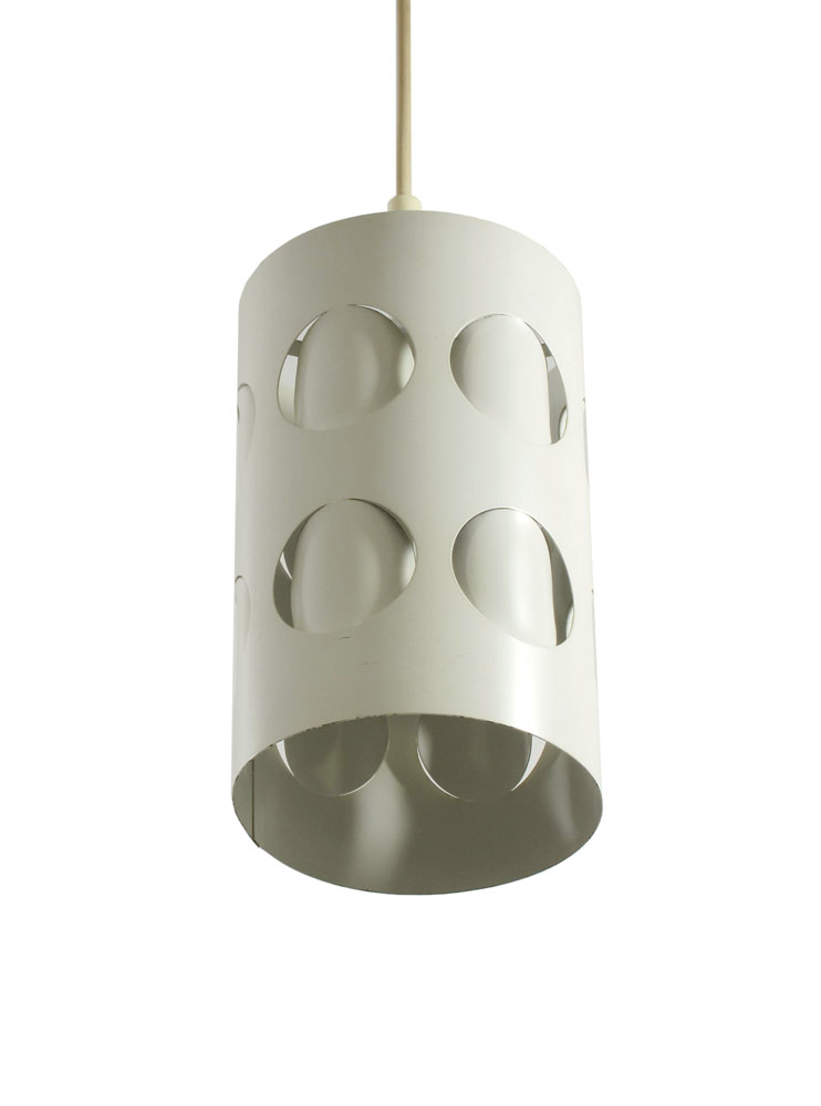 Raak sixties retro metal folded pendant