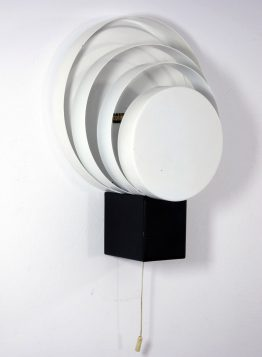 Raak vintage fifties wall lamp with rings