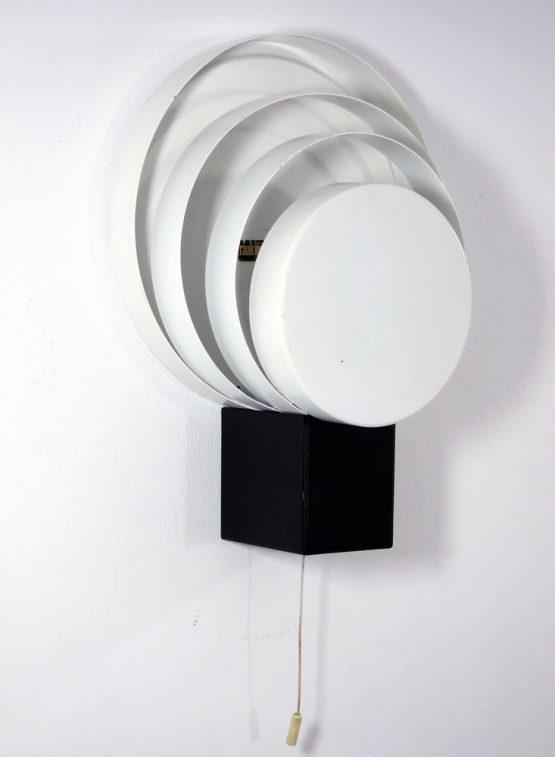 Raak vintage fifties wall lamp with rings