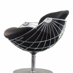Rudi Verelst Atomic vintage relax chair for Novalux
