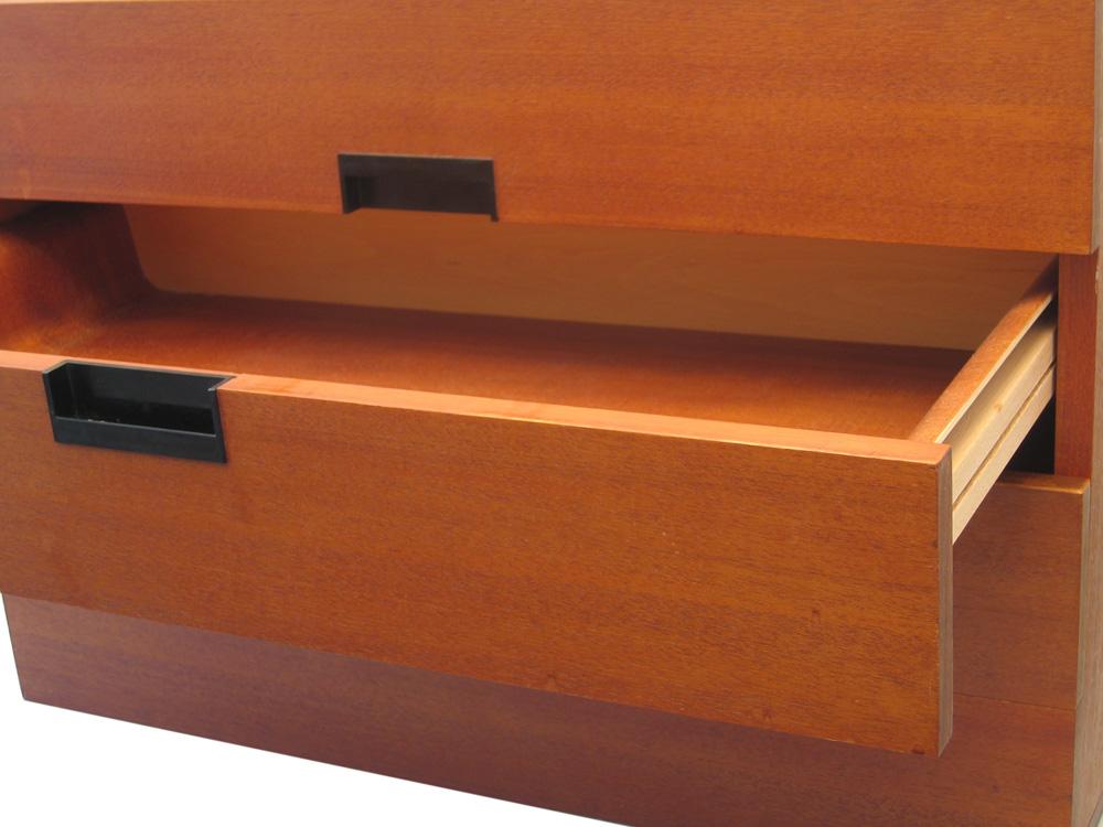 Cees Braakman, vintage Pastoe Japan sixties series drawer