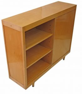 Fifities retro bookcase with two sides