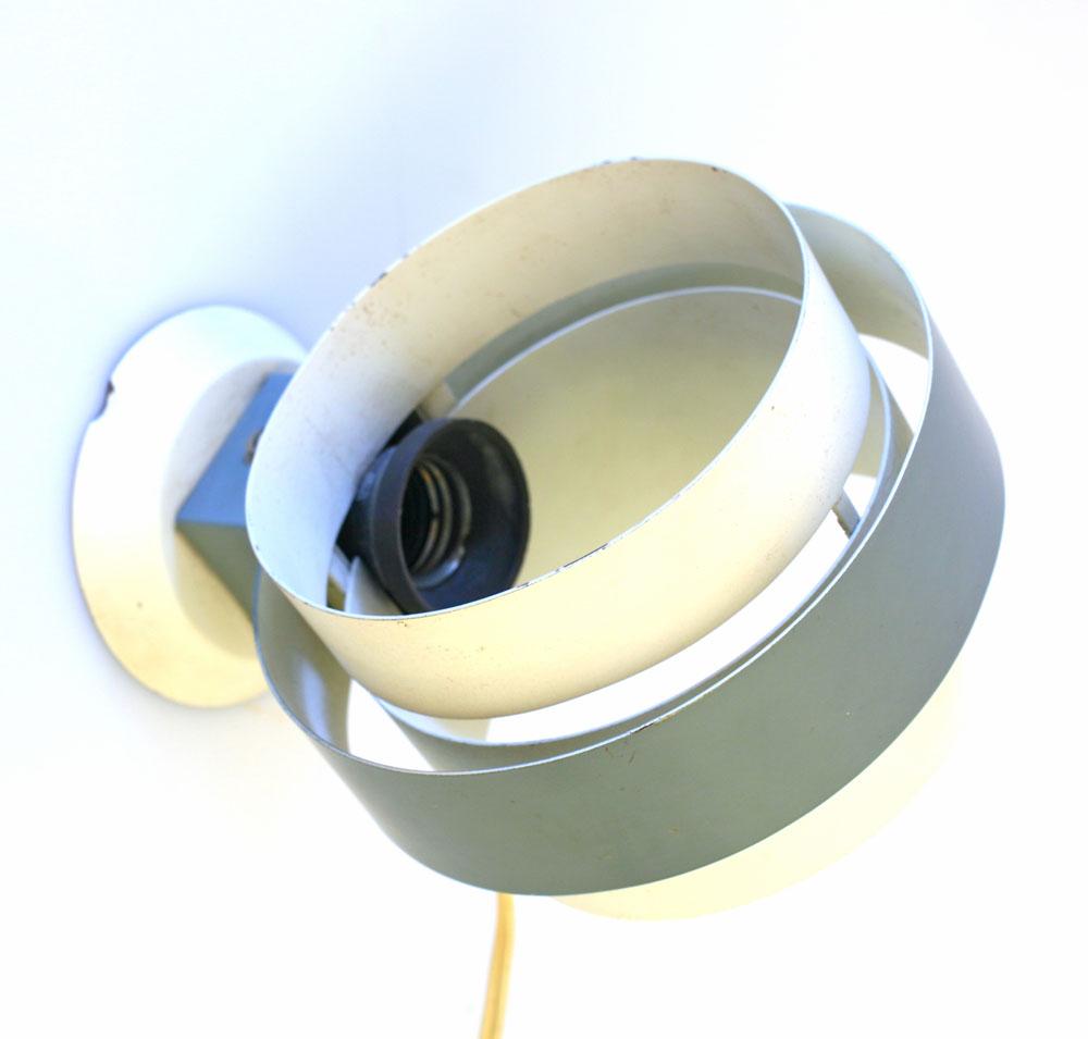 Louis Kalff Philips vintage metal wall lamp