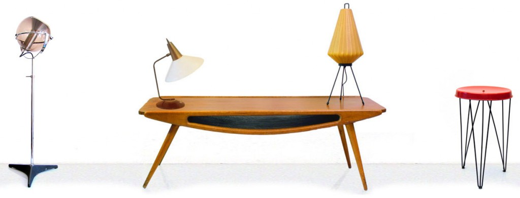 bom design furniture - vintage furniture interior rotterdam - 50s 60s