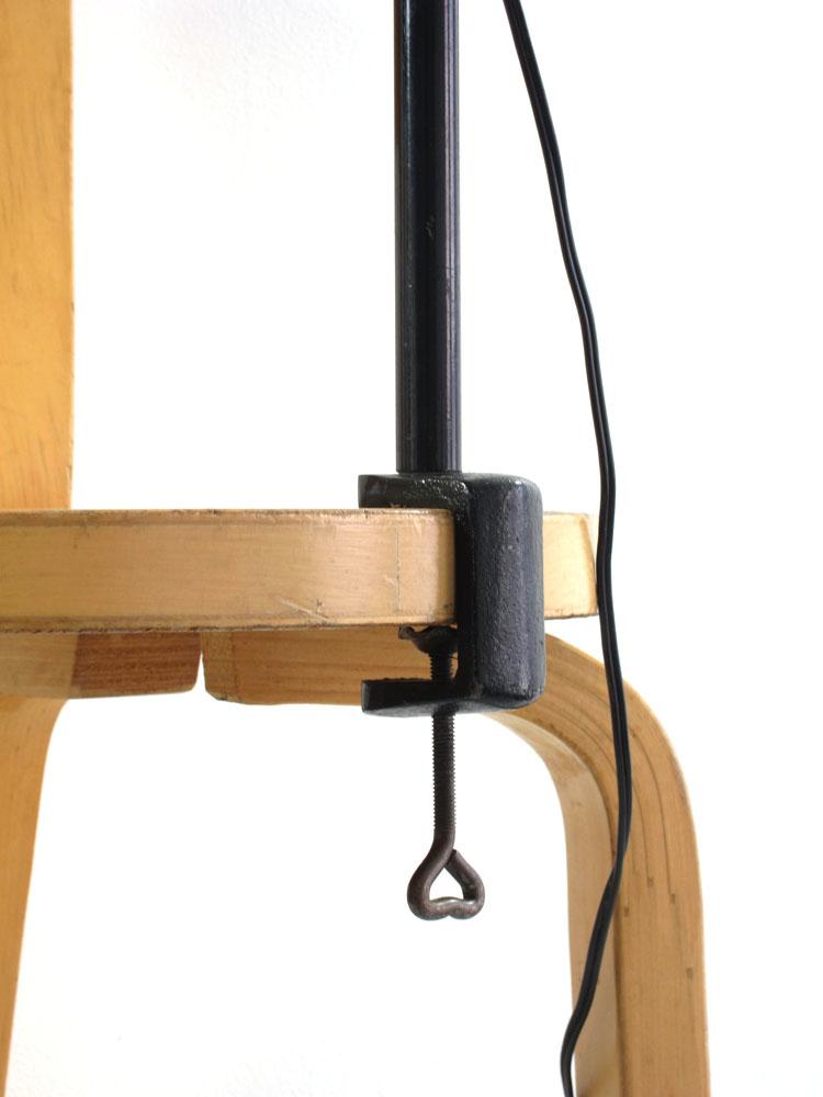 Hala adjustable vintage sixties clamp light