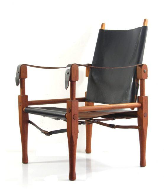 Wilhelm Kienzle vintage Safari chair, Bauhaus, Wohnbedarf, Danish, Tapiovaara, Borge Mogensen, Hans Wegner, Kaare Klint