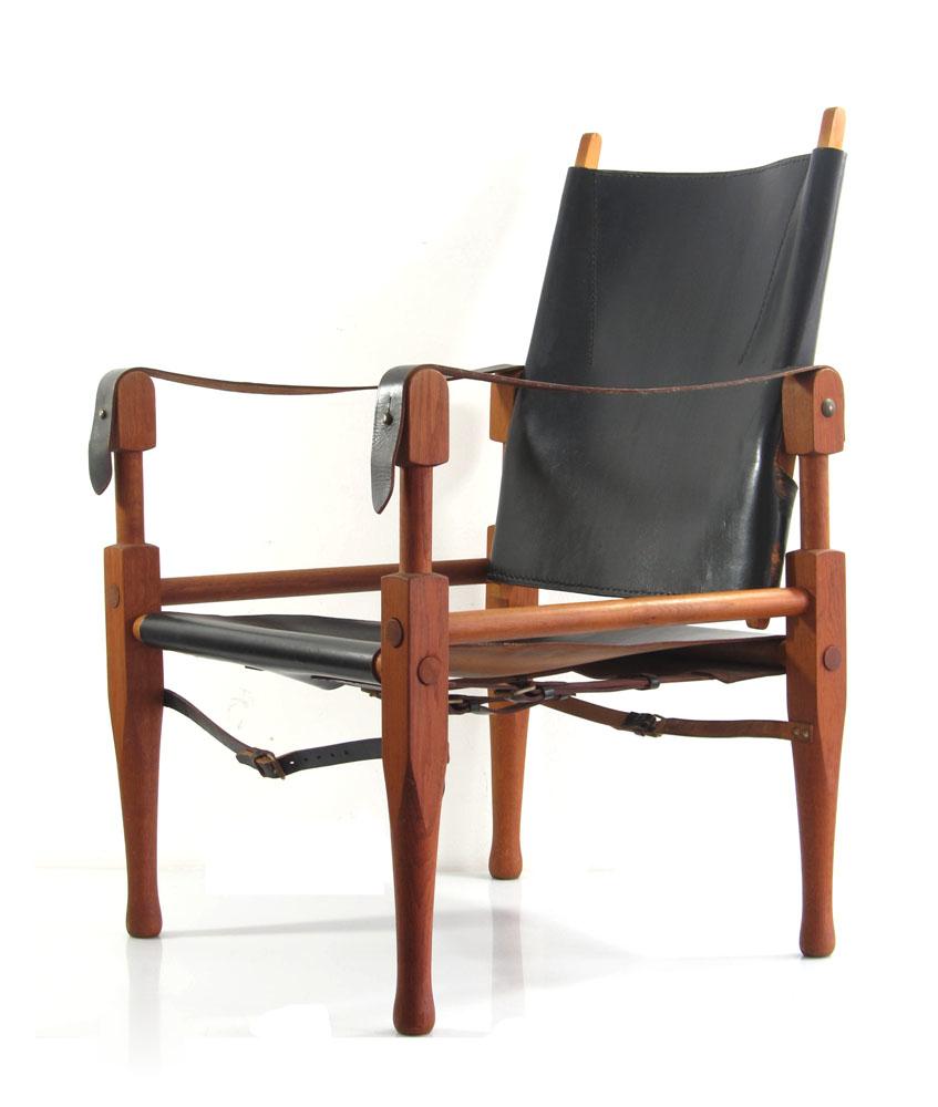 Wilhelm Kienzle Vintage Safari Chair Bauhaus Wohnbedarf Danish Tapiovaara Borge Mogensen Hans Wegner Kaare Klint