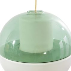 Tapio Wirkkala coloured glass vintage design lamp