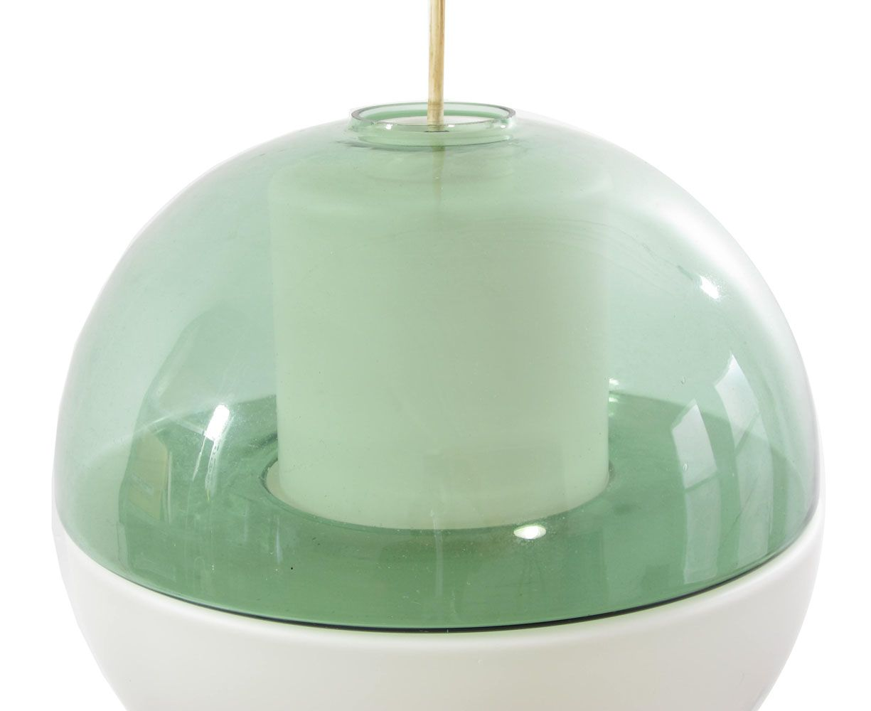 Tapio Wirkkala coloured glass vintage design lamp
