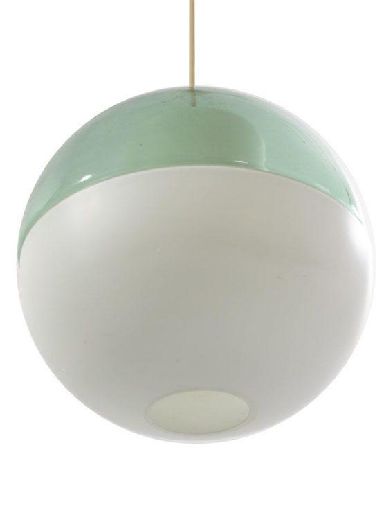 Tapio Wirkkala glass sixties retro pendant light