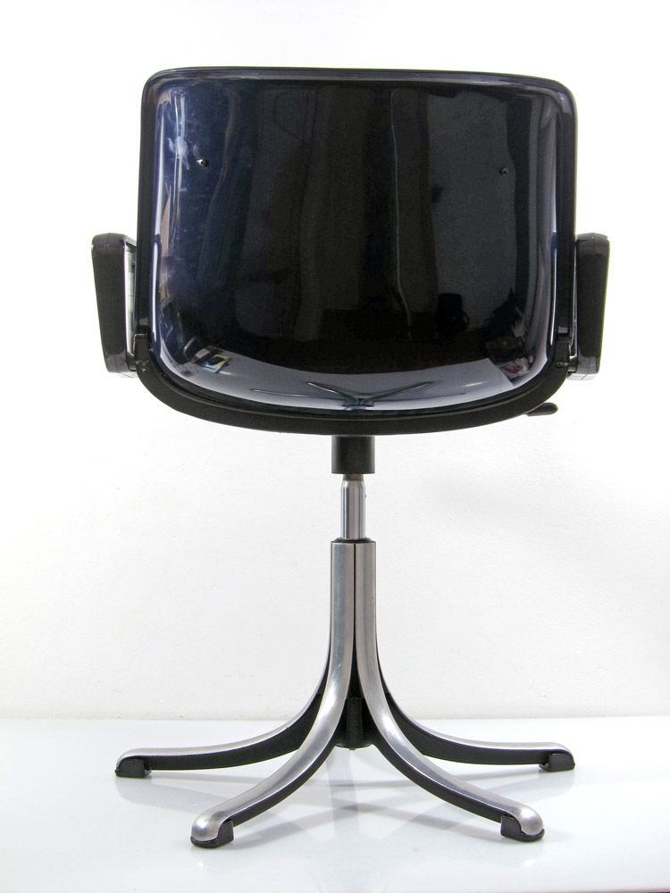 Tecno Modus adjustable vintage Desk Chairs Osvaldo Borsani