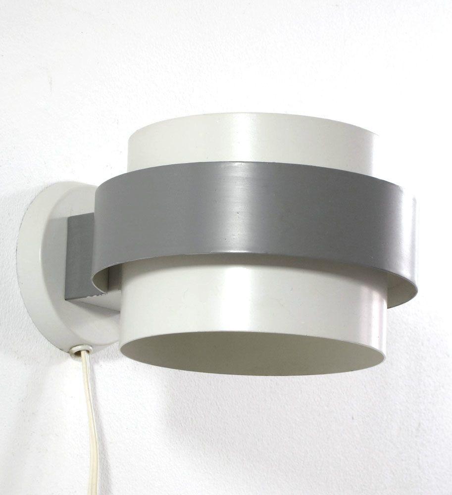 Grey louis kalff philips vintage metal wall lamp grey fifties louis kalff philips vintage metal wall lamp aloadofball Choice Image