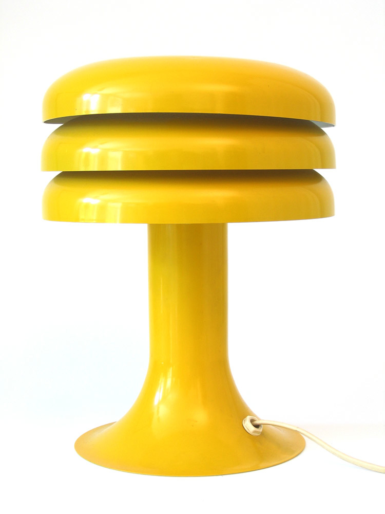 hans agne jakobsson danish yellow sixties table lamp sold. Black Bedroom Furniture Sets. Home Design Ideas
