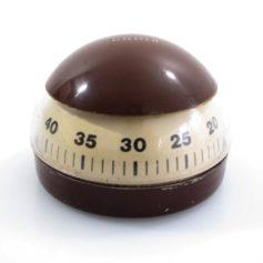 Vintage KRUPS cooking timer. Dimensions: diameter 6 cm, height 4,5 cm.