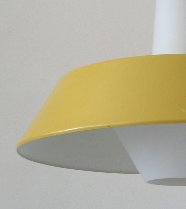 Large Louis Kalff sixties retro Philips pendant lamp