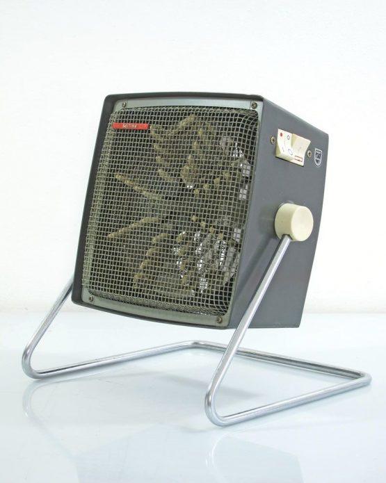 Philips designed vintage design heater with fan