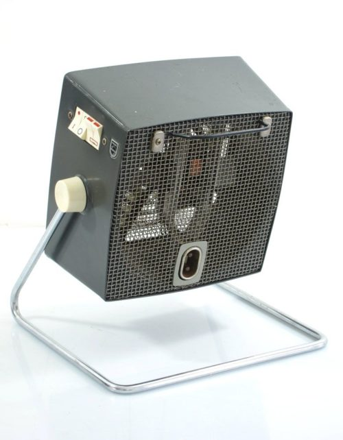 Philips designed vintage fifties heater with fan