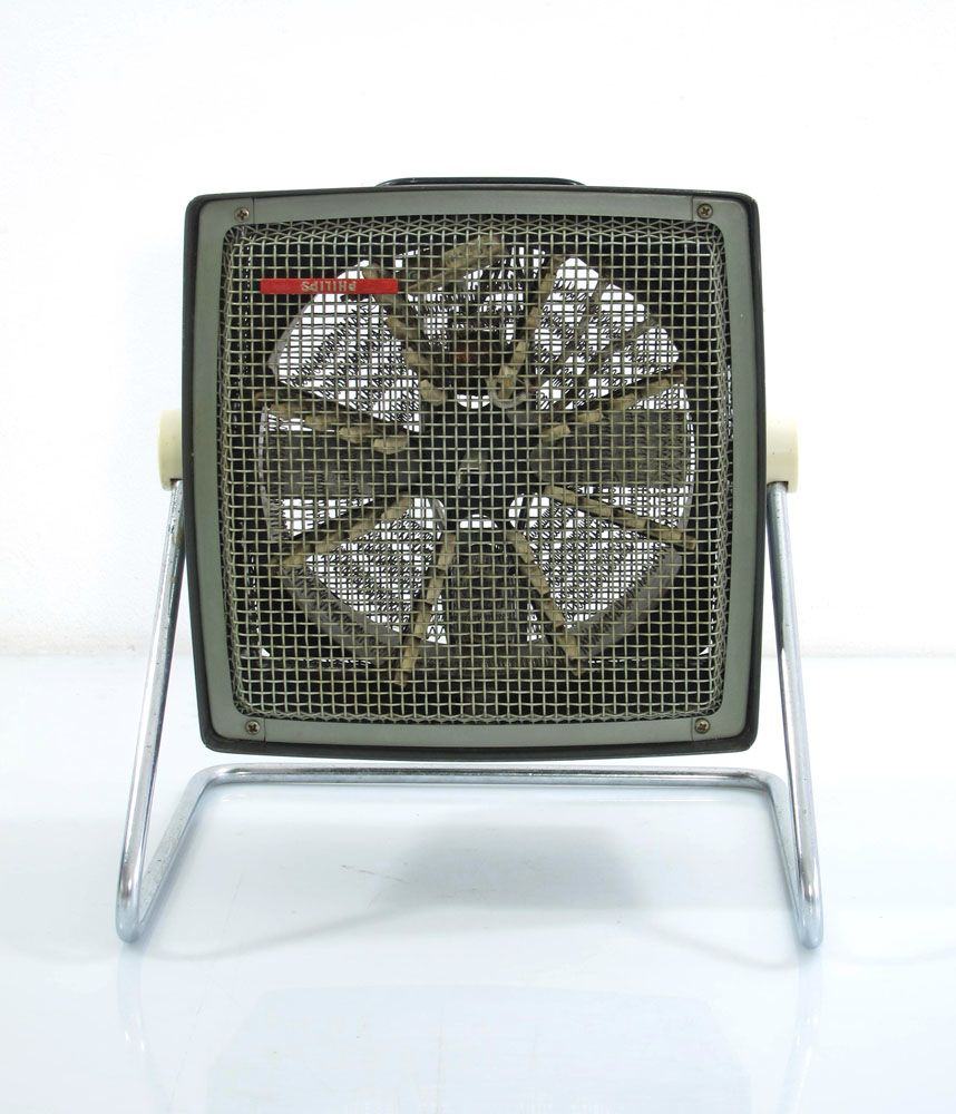 Philips vintage sixties design heater with fan