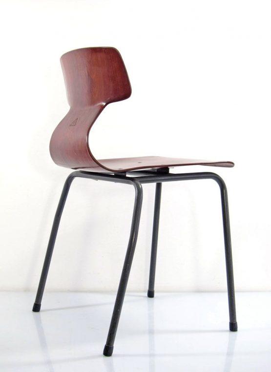 Plywood Galvanitas vintage design chairs