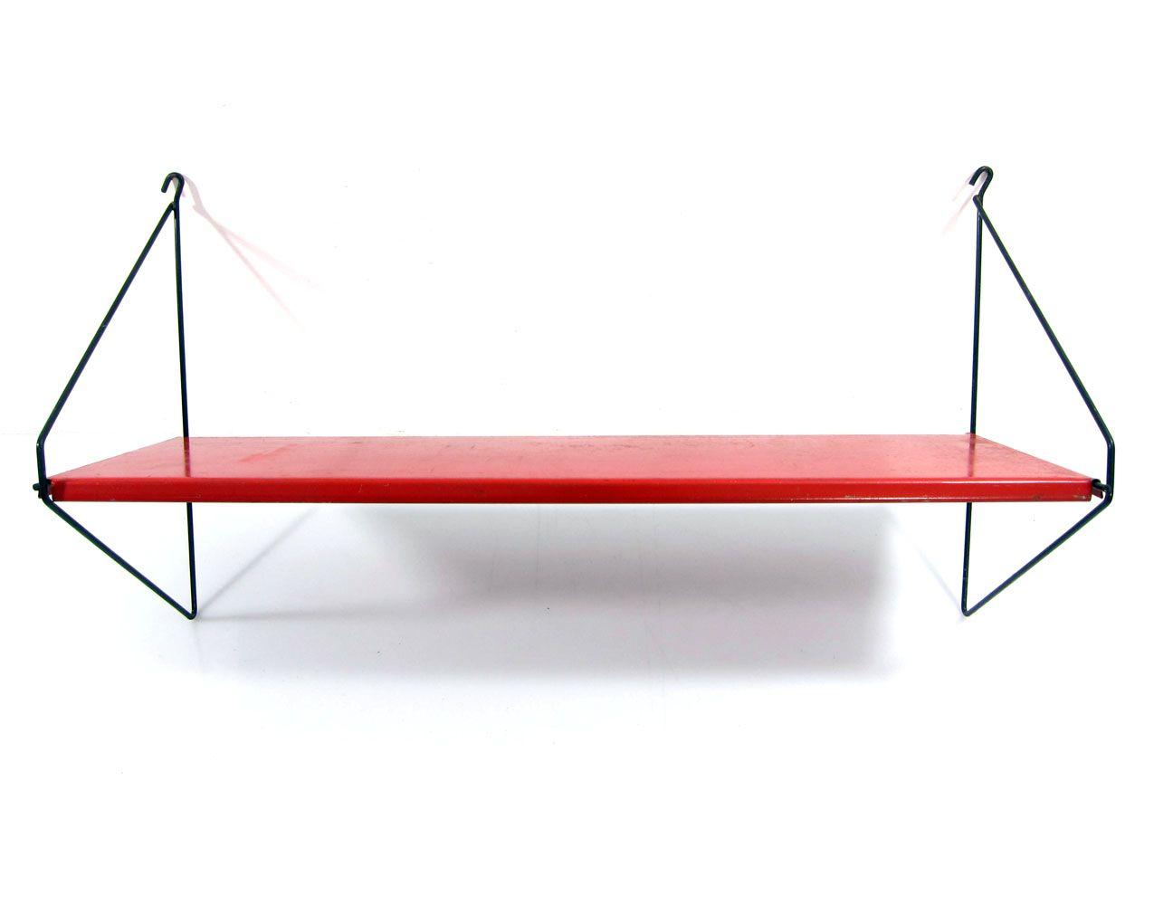 Wondrous Red Mategot Style Red Sixties Shelf Interior Design Ideas Clesiryabchikinfo