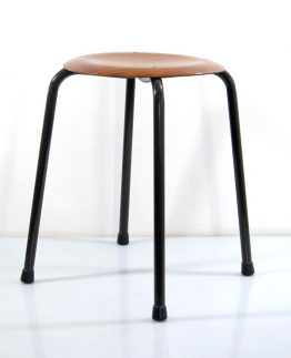 Sixties plywood stackable vintage stools