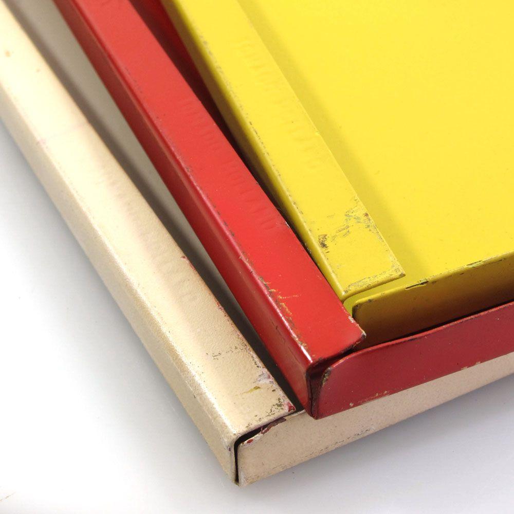 Vintage design Tomado sixties metal bookshelf