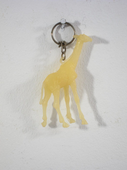 Sixties vintage retro key ring