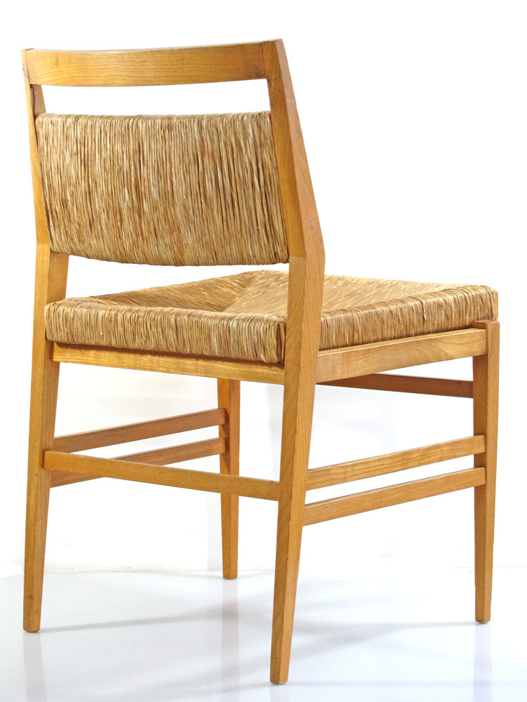 Gio ponti leggera style wooden chairs 60s vintage eames for Furniture 60s style